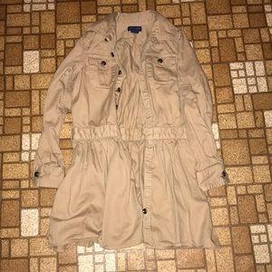 Girls lightweight coat
